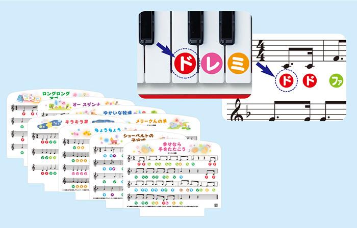 3. 簡単楽譜付!